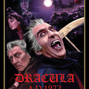 Dracula Has Risen From The Grave 18x24 Exclusive Collector/'s Hammer Art Poster